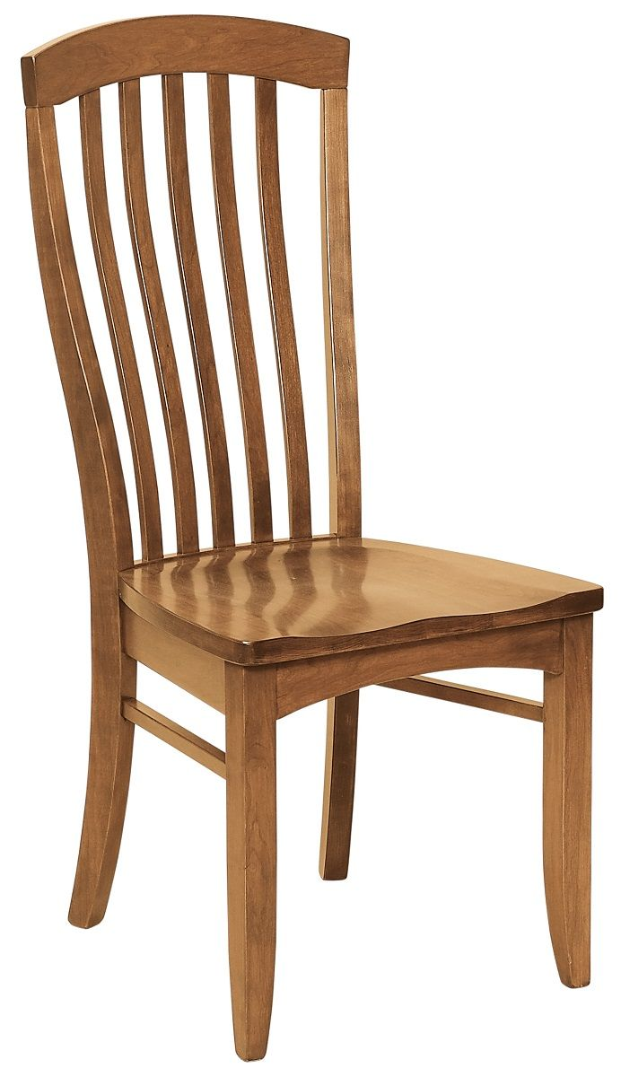 Modern Cherry Side Chair