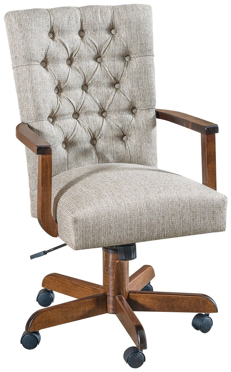 Thorsby Upholstered Arm Desk Chair
