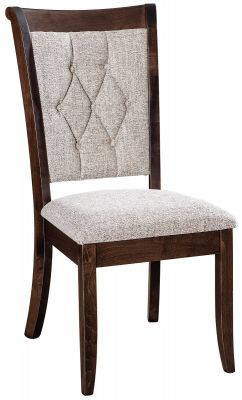 Upholstered Amish Made Side Chair