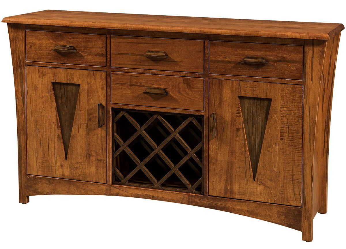 Alighieri Buffet with Wine Rack