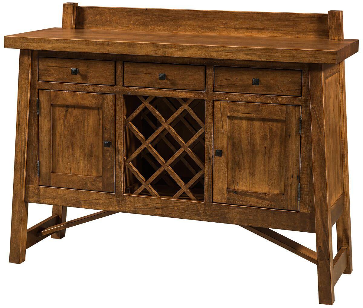 Chasteen Creek Wine Cabinet