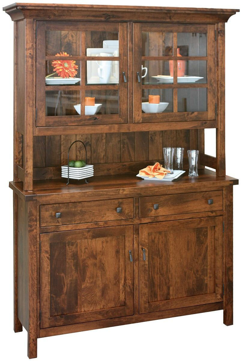 Dakota Dunes Rustic China Hutch
