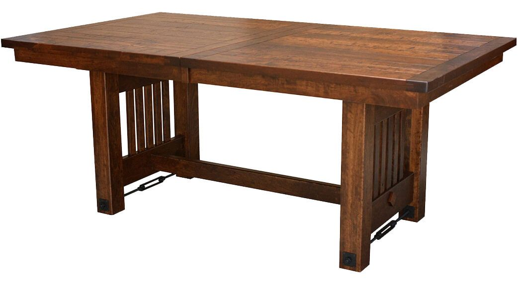 Dakota Dunes Rustic Dining Table