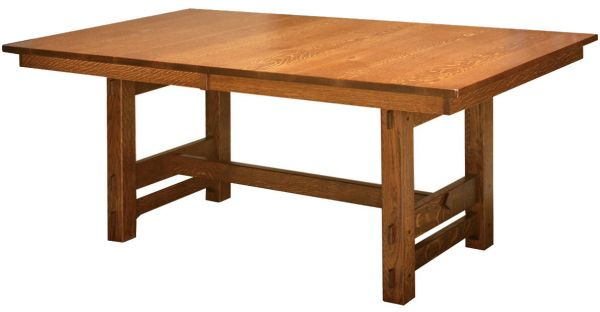 Gustav Trestle Dining Table