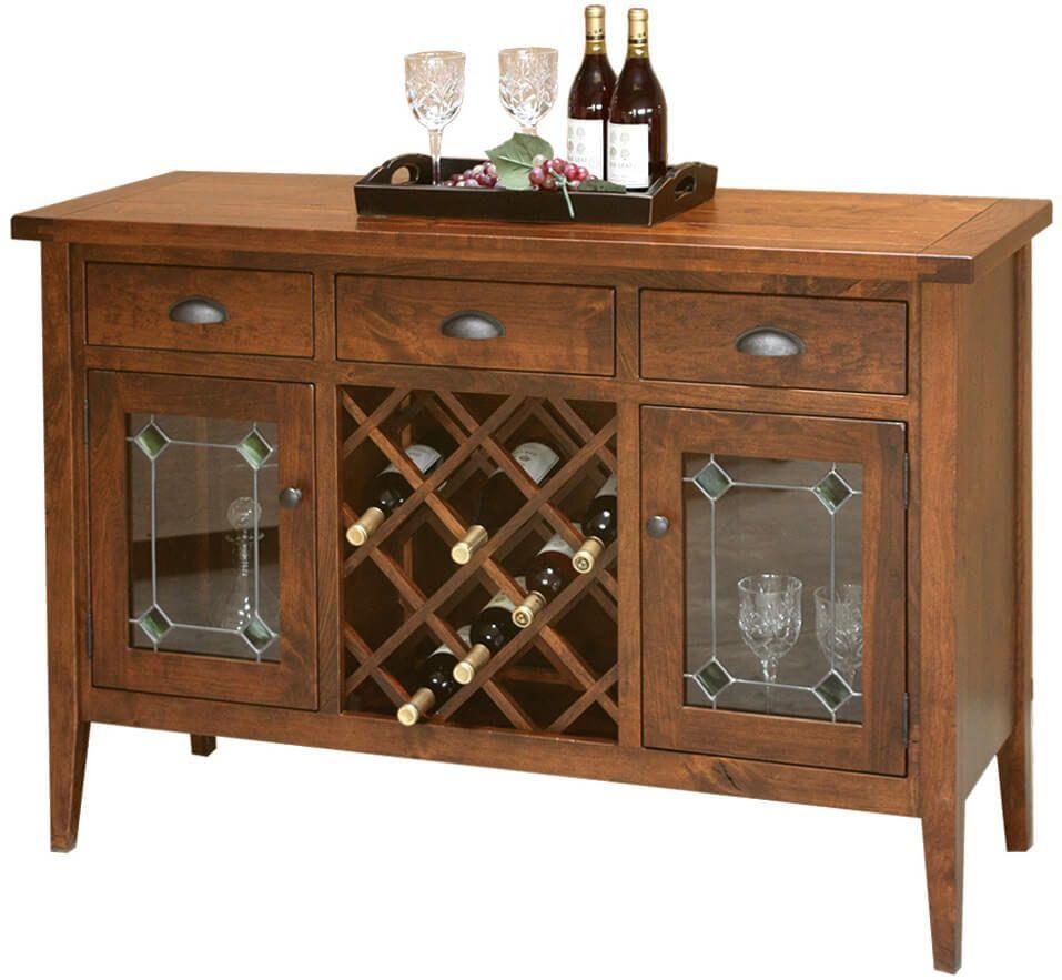 Hotchkiss Rustic Wine Cabinet