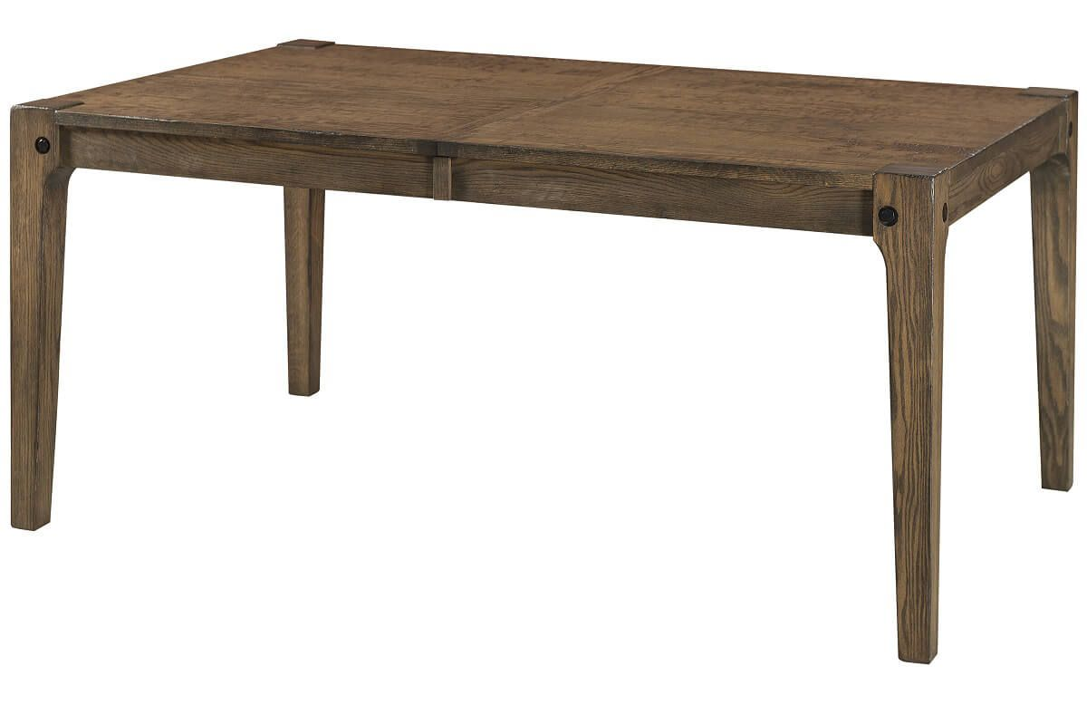 Ann Arbor Industrial Dining Room Table Countryside Amish Furniture