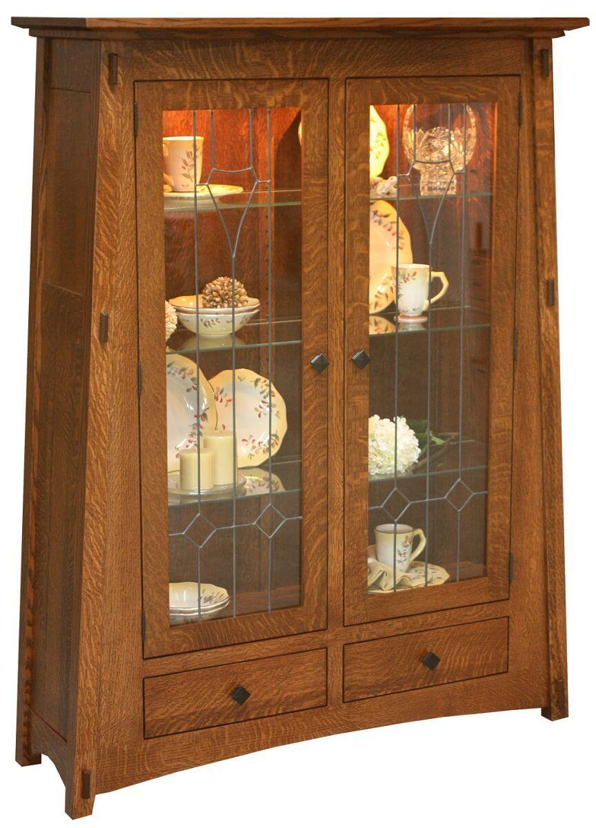 Eaton McCoy Glass Cabinet