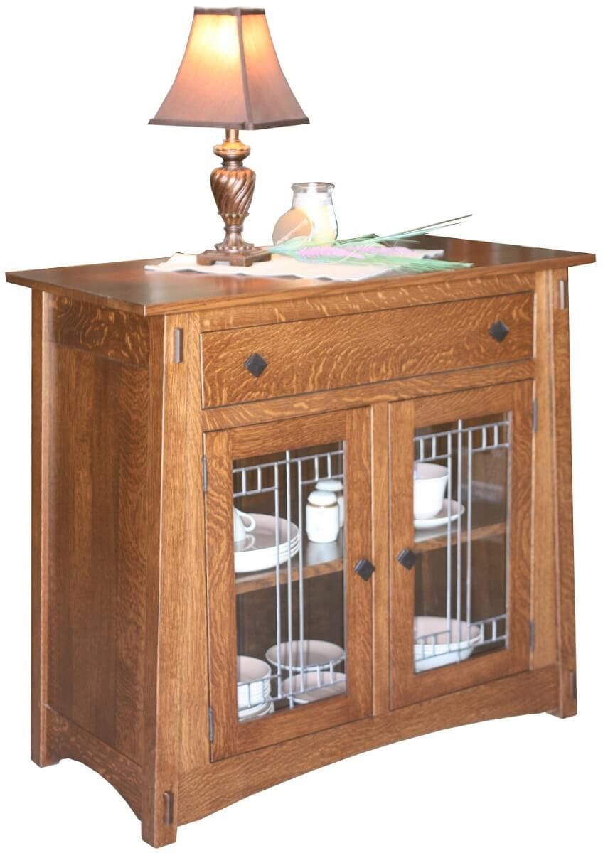 Eaton McCoy Glass Sideboard