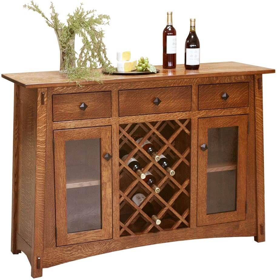 Eaton McCoy Wine Cabinet