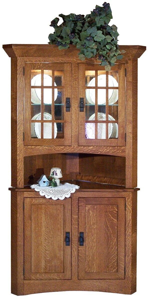 El Camina Corner Cabinet