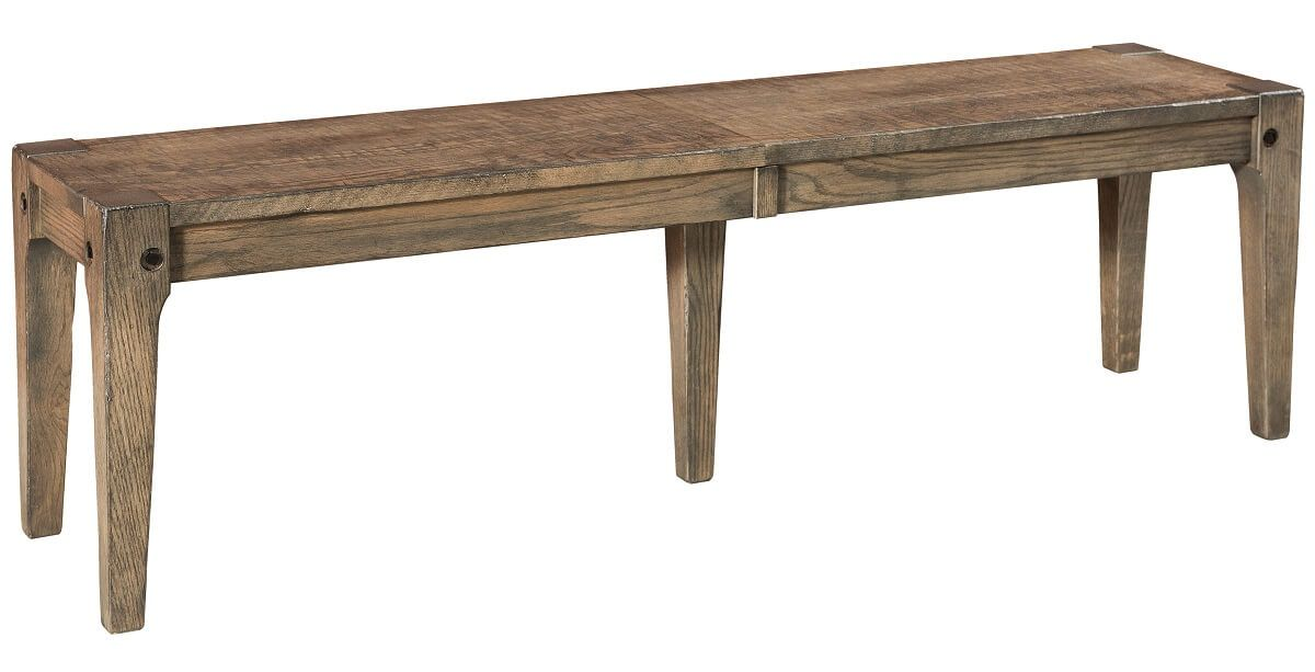 Oak Modern Dining Bench