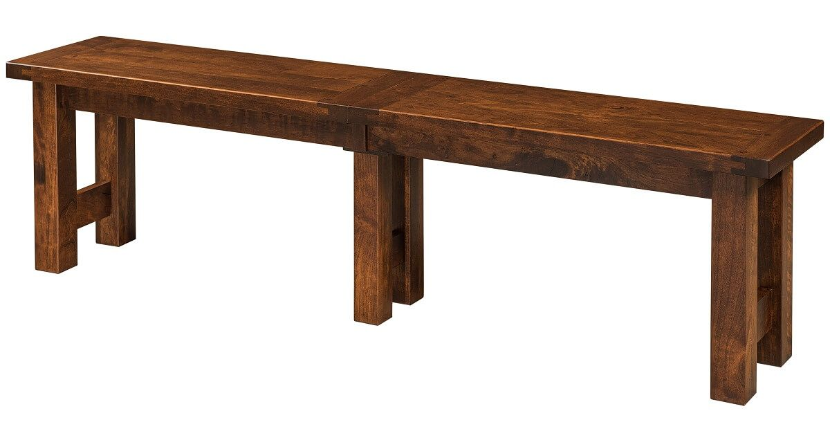 Dakota Dunes Rustic Kitchen Bench