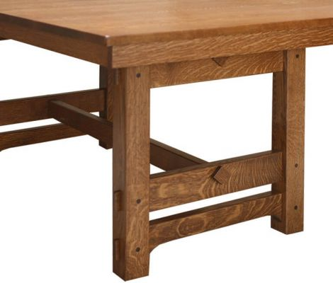 Trestle Detail on Gustav Dining Table
