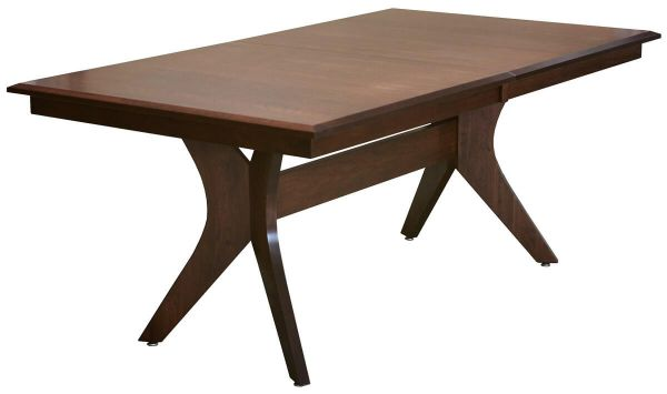 Amish Made Butterfly Leaf Dining Table