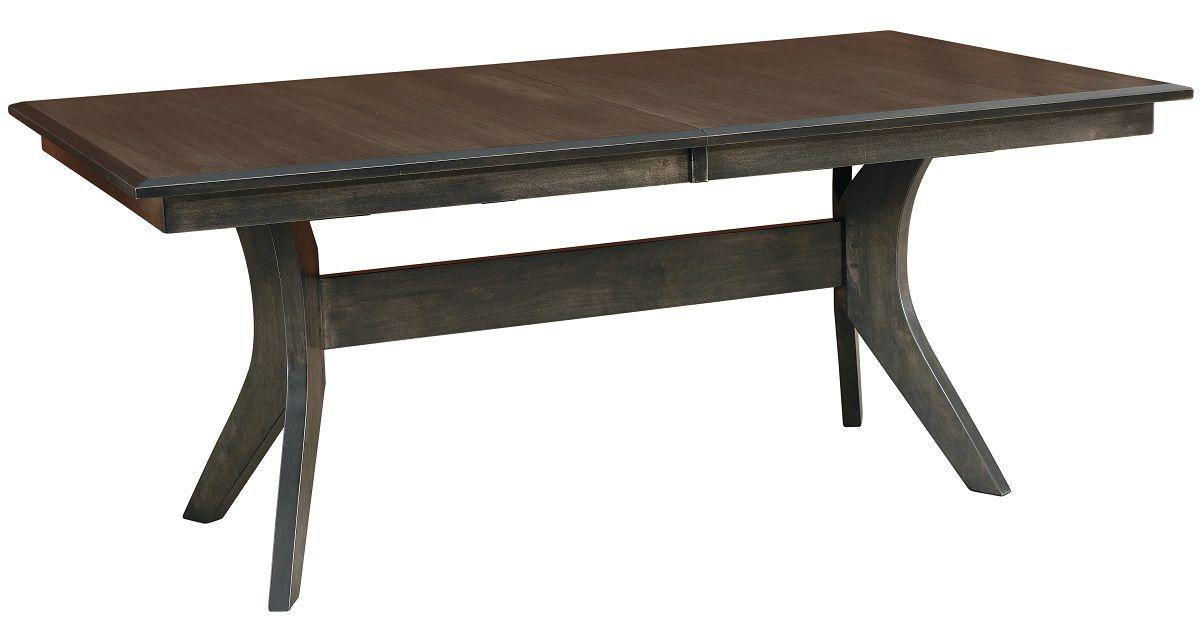 Modern Expanding Trestle Table