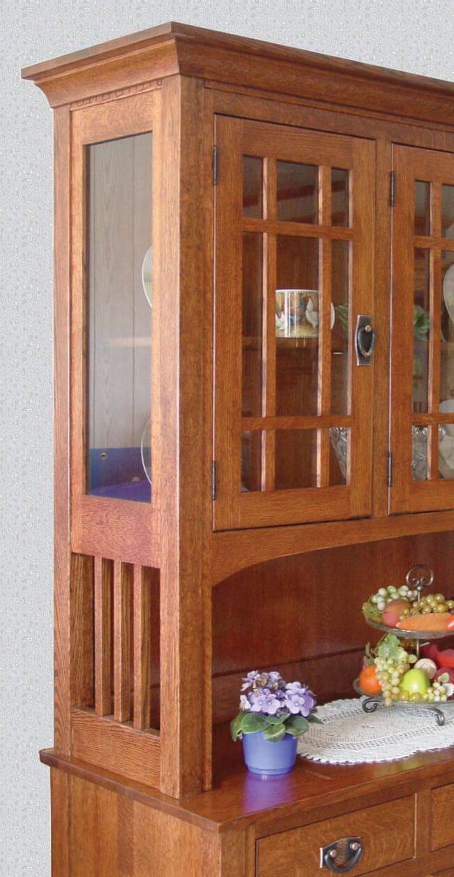 Ashbee China Cabinet Detail