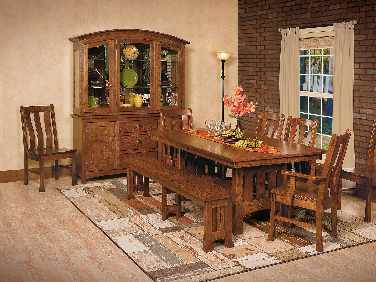 Adobe Mission Dining Set
