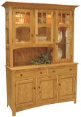 Barnes Chapel 3-Door China Cabinet