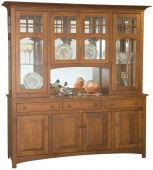 Barnes Chapel 4-Door Hutch