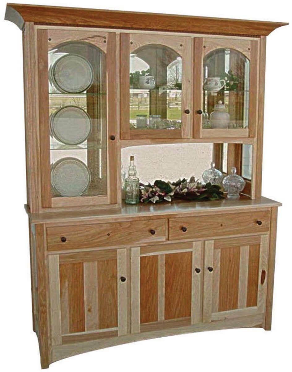 Cabiria 3-Door Open Deck Hutch