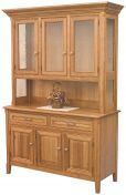 Cleburne 3-Door Hutch