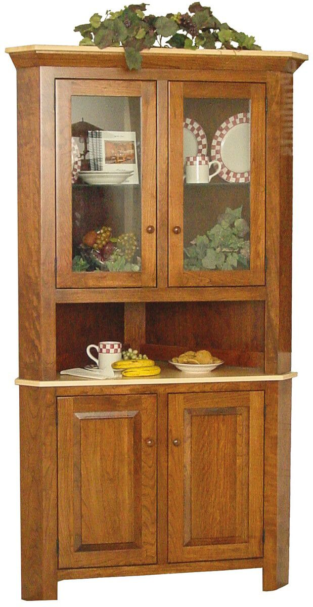 Cutler Bay Corner Hutch