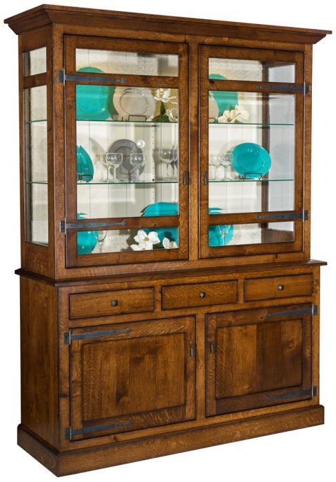 The Flanders Hutch Island Table Combines Versatile Storage Ability Of A With Pull Out This Is Ideal For Homes Without Formal