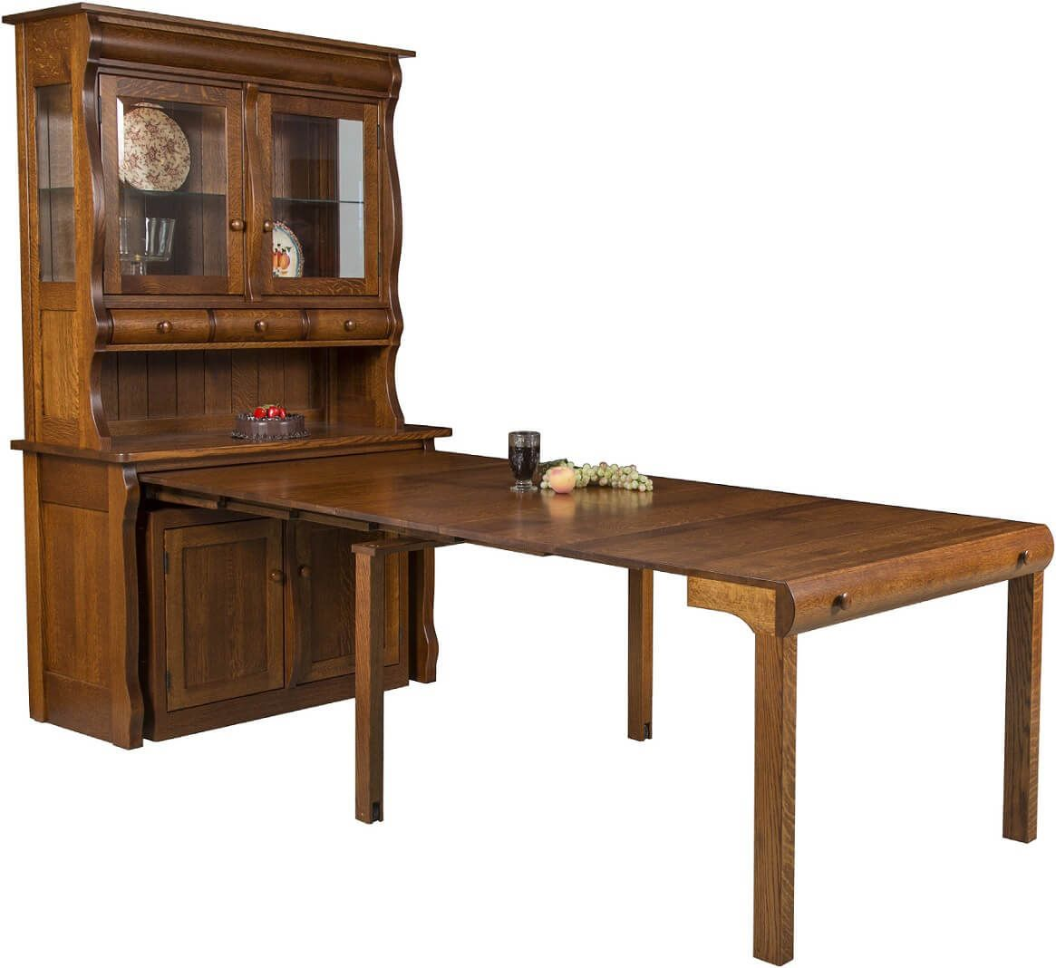 Flanders Hutch Island Table