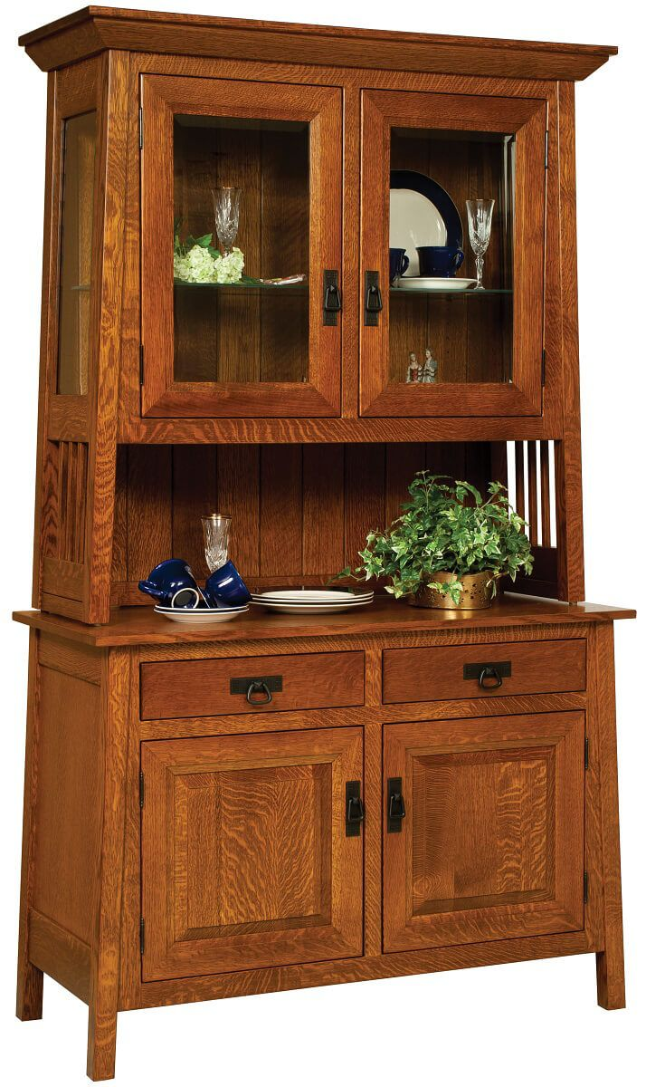 Garcia China Cabinet in Quartersawn White Oak