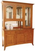 Graham Shaker 3-Door Hutch