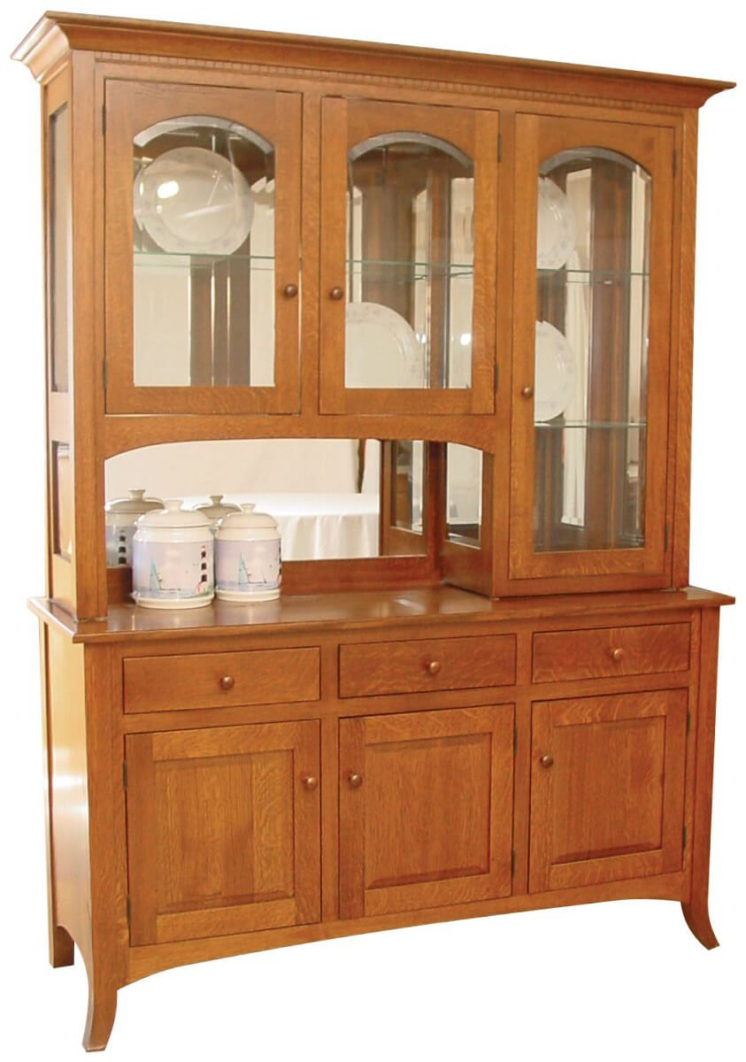Graham Shaker 3-Door China Hutch