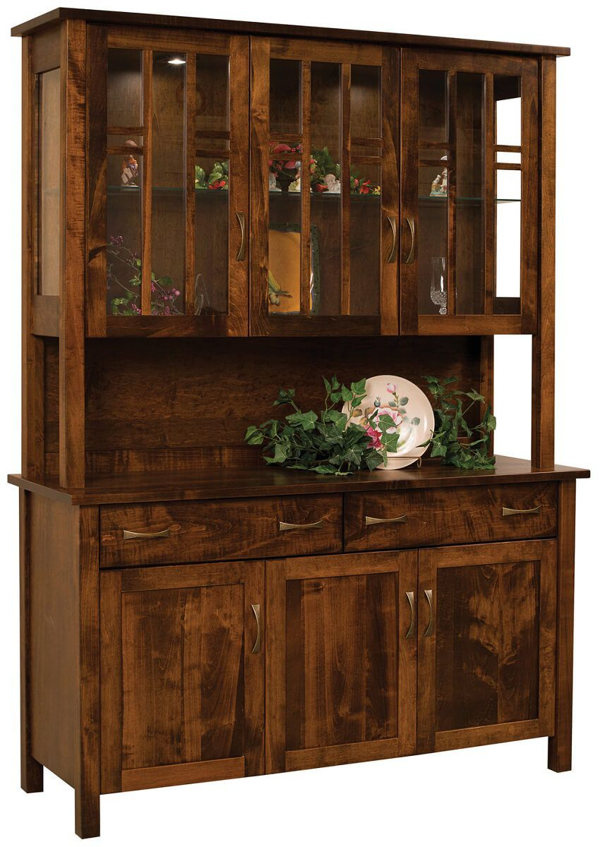 Ithaca 3-Door China Cabinet