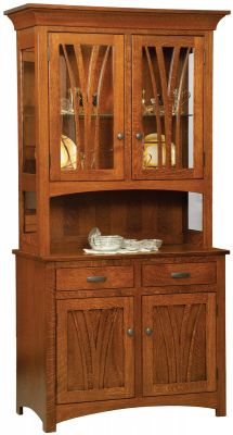 Jermyn Street Hutch in Quartersawn White Oak
