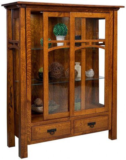 Nuestra Amish Mission Curio Cabinet
