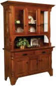 Pinehurst Amish China Cabinet