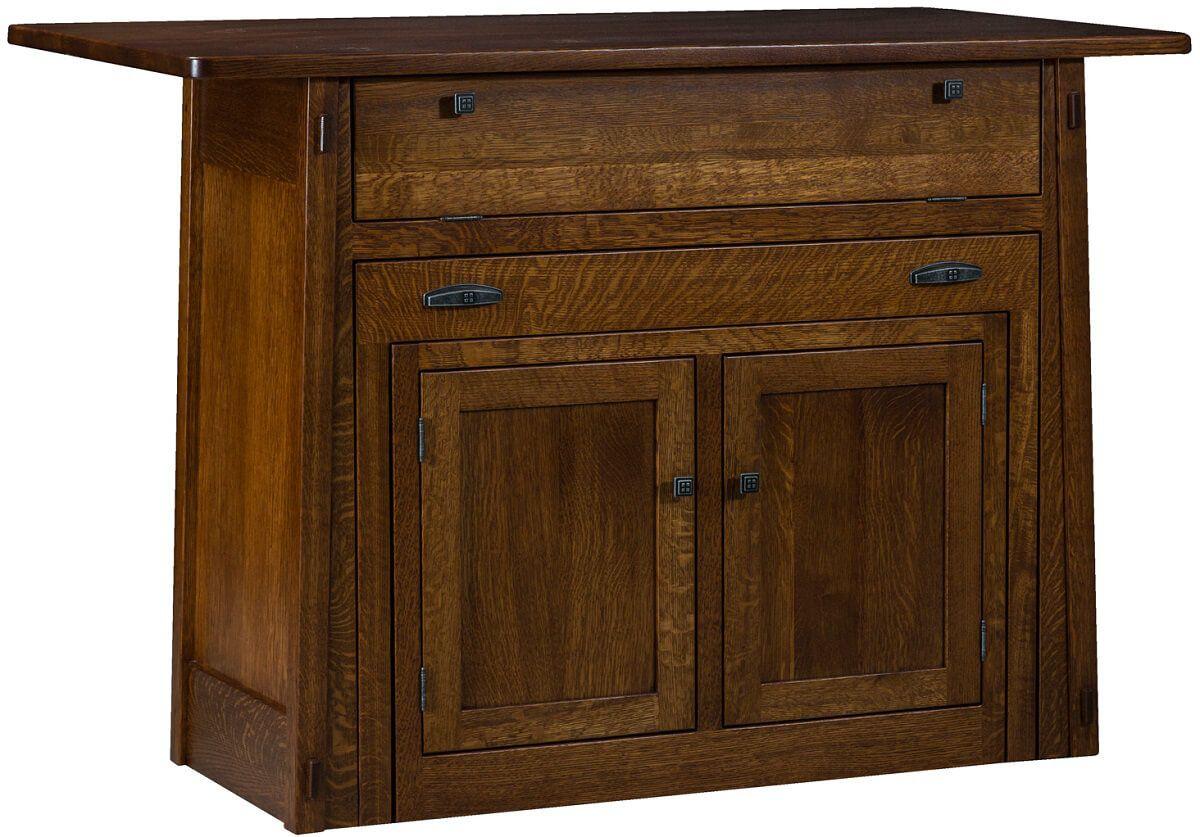 Amish Furniture Kitchen Island Rosales Kitchen Island Pull Out Table Countryside Amish Furniture