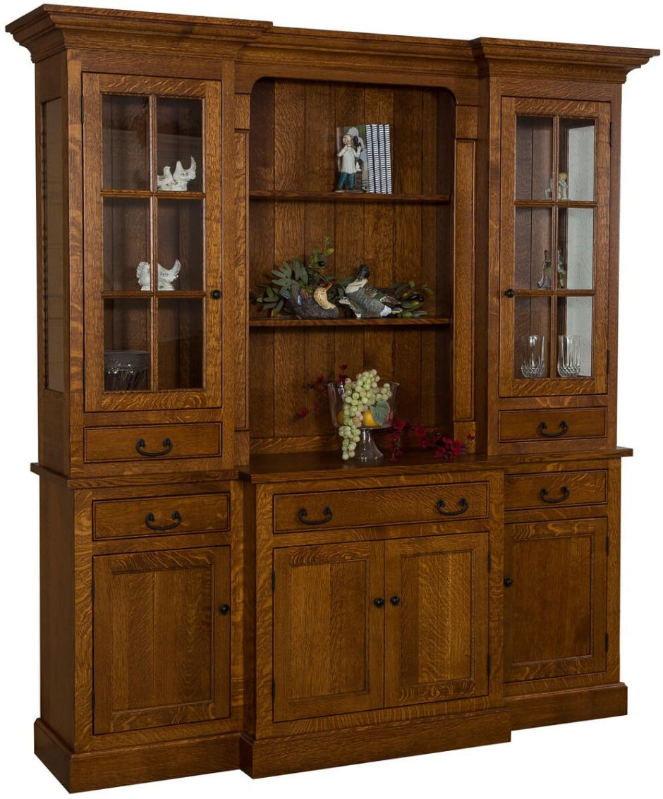 Sangre Mission China Cabinet - Countryside Amish Furniture