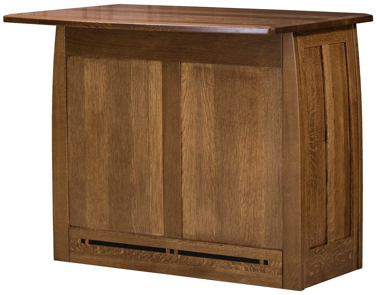 Island Buffet with Pull Out Dining Room Table