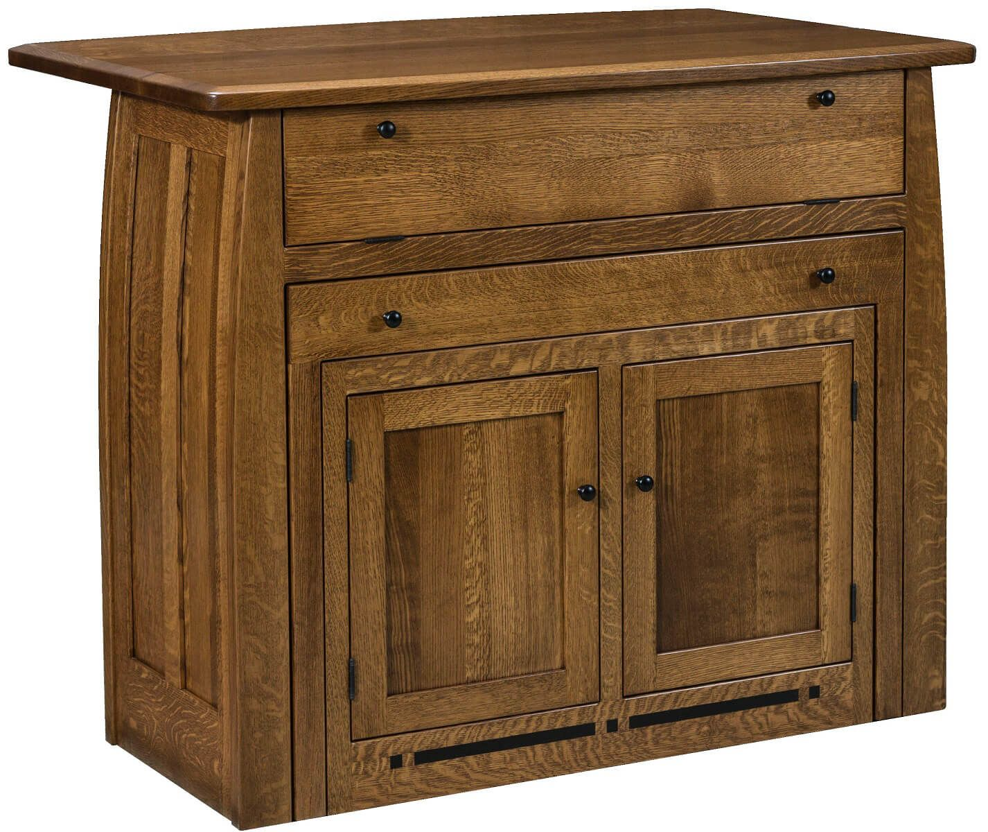 Amish Pull Out Table
