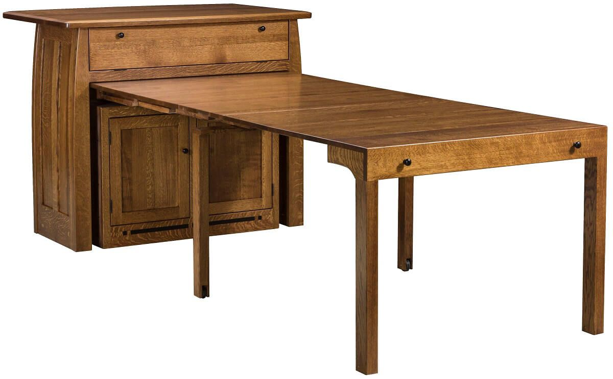 Tabbs Creek Buffet With Pull Out Table Countryside Amish