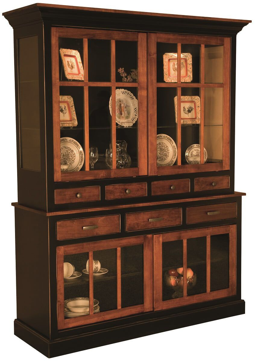 Two-Toned Tiare China Cabinet