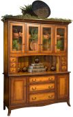 Torrey Amish China Cabinet
