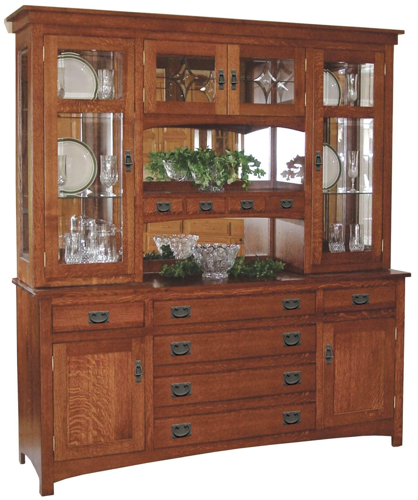 Americus Garden China Cabinet