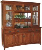 Americus Garden China Hutch