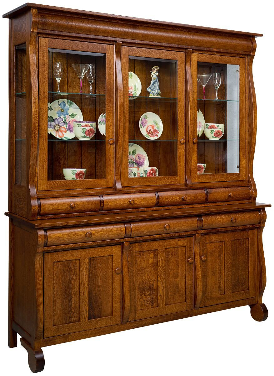 Flanders 3-Door China Cabinet