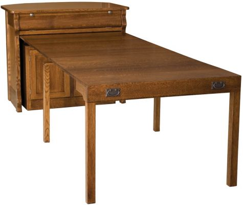 Flanders Kitchen Island Pull Out Table