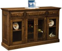 Pacific Dunes Tall Wine Rack Countryside Amish Furniture