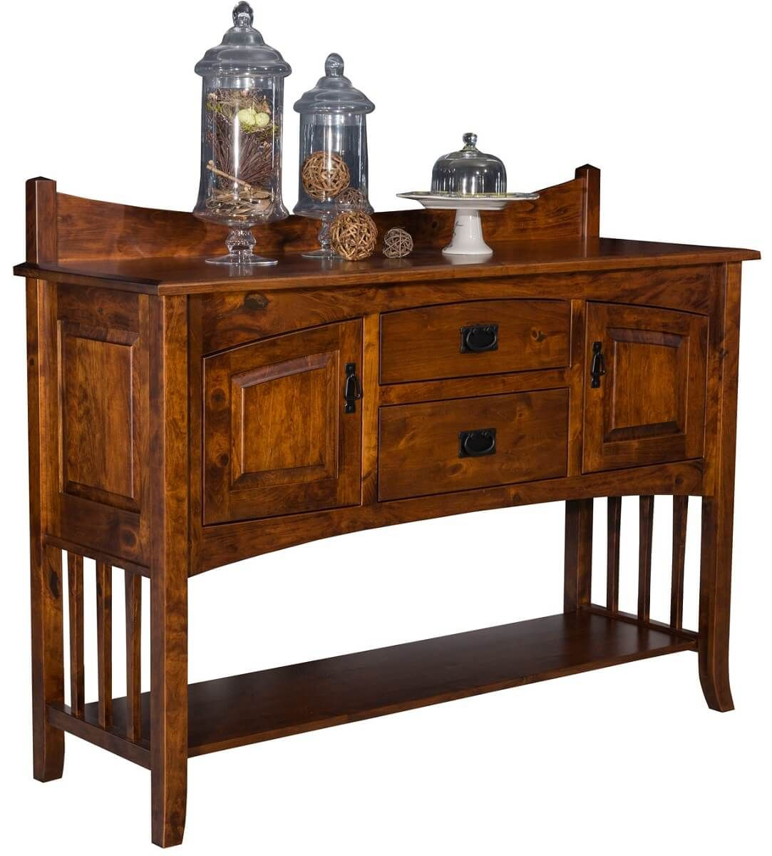 Mountain Park Buffet in Rustic Cherry