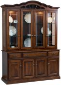 Valmont China Hutch Cabinet