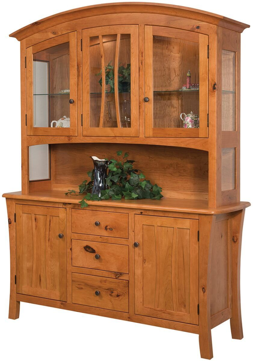 Watts North China Cabinet in Rustic Cherry